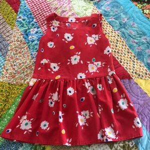 Vintage Daisy dress size 6 handmade